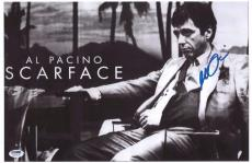 Al Pacino Signed Authentic 11x17 Mini Poster Scarface Psa/dna Itp 5a79139