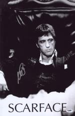 Al Pacino Signed Authentic 11x17 Mini Poster Scarface Psa/dna Itp 6a38231