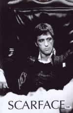 Al Pacino Signed Authentic 11x17 Mini Poster Scarface Psa/dna Itp 6a38232