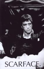Al Pacino Signed Authentic 11x17 Mini Poster Scarface Psa/dna Itp 6a38302