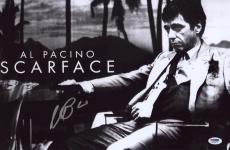 Al Pacino Signed Authentic 11x17 Mini Poster Scarface Psa/dna Itp 6a38377