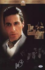 Al Pacino Signed Authentic 11x17 Mini Poster The Godfather Psa/dna Itp 5a00580