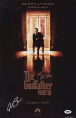 Al Pacino Signed Authentic 11x17 Mini Poster The Godfather Psa/dna Itp 5a00683