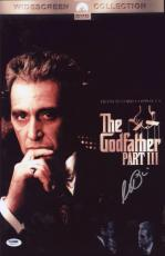 Al Pacino Signed Authentic 11x17 Mini Poster The Godfather Psa/dna Itp 6a38207