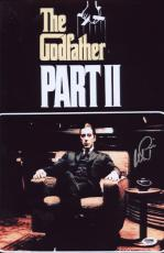 Al Pacino Signed Authentic 11x17 Mini Poster The Godfather Psa/dna Itp 6a38233