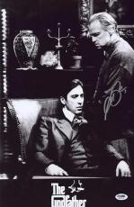 Al Pacino Signed Authentic 11x17 Mini Poster The Godfather Psa/dna Itp 6a38294