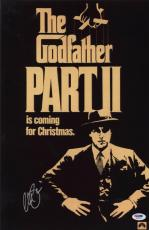 Al Pacino Signed Authentic 11x17 Mini Poster The Godfather Psa/dna Itp 6a38301