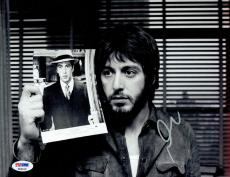 Al Pacino Signed Authentic Autographed 8.5X11 B/W Photo PSA/DNA #P64419