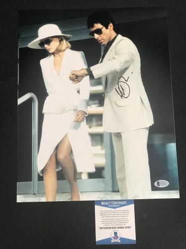 Al Pacino Signed Auto Scarface 11x14 Photo Bas Beckett Coa 25