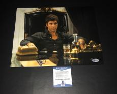 Al Pacino Signed Auto Scarface 11x14 Photo Bas Beckett Coa 7
