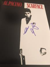 AL PACINO SIGNED AUTOGRAPH 11x14 PHOTO SCARFACE IN PERSON COA AUTO RARE NY X5