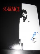 AL PACINO SIGNED AUTOGRAPH 8x10 PHOTO SCARFACE PROMO IN PERSON COA AUTO D