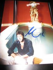 AL PACINO SIGNED AUTOGRAPH 8x10 PHOTO SCARFACE PROMO SERPICO RARE IN PERSON NY G