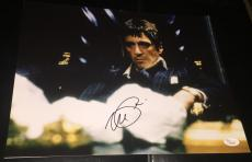"Al Pacino Signed Autograph Full Name ""scarface"" Classic 11x14 Photo Jsa Y60590"