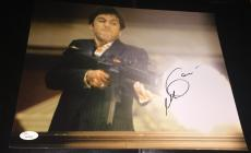 "Al Pacino Signed Autograph Full Name ""scarface"" Gun Fire 11x14 Photo Jsa Y60589"