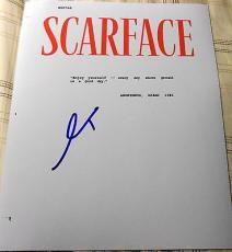 "Al Pacino Signed Autograph ""scarface"" Full 183 Page Movie Script With Coa"