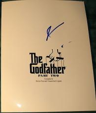 "Al Pacino Signed Autograph ""the Godfather Part Two"" Full Rare Movie Script Coa 2"
