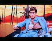 Al Pacino Signed Autographed 11X14 Photo Scarface Arm in Sling Hor. PSA V93162