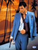 Al Pacino Signed Autographed 11X14 Photo Scarface Arm in Sling Vert. PSA V93161