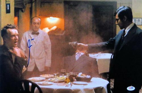 Al Pacino Signed Autographed 12X18 Photo The Godfather Shooting PSA U61854