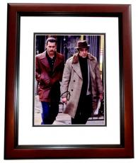 Al Pacino Signed - Autographed Donnie Brasco - Lefty 8x10 inch Photo MAHOGANY CUSTOM FRAME - Guaranteed to pass PSA or JSA