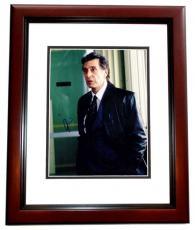 Al Pacino Signed - Autographed Insomnia 11x14 Photo MAHOGANY CUSTOM FRAME
