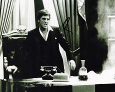 Al Pacino Signed - Autographed SCARFACE 8x10 Photo - Tony Montana