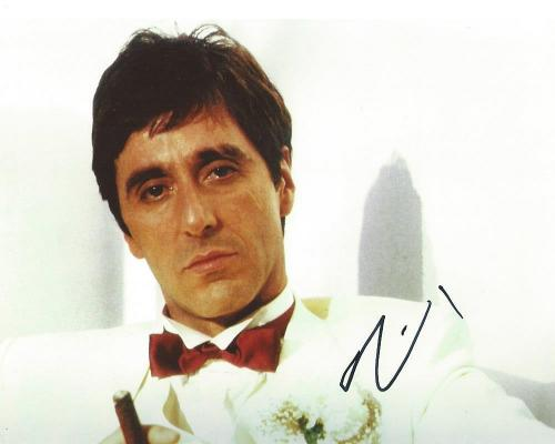 "AL PACINO signed autographed ""SCARFACE"" 8x10 PHOTO w/COA!"