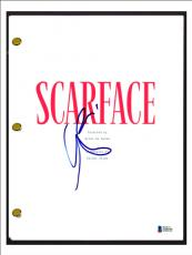 Al Pacino Signed Autographed SCARFACE Full Movie Script Beckett BAS COA