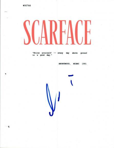 Al Pacino Signed Autographed SCARFACE Full Movie Script COA