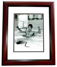Al Pacino Signed - Autographed SCARFACE - Tony Montana 8x10 inch Photo MAHOGANY CUSTOM FRAME - Guaranteed to pass PSA or JSA