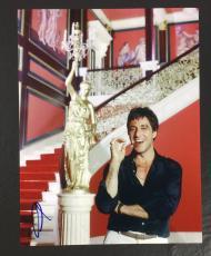 AL PACINO SIGNED AUTOGRAPHED SCARFACE 'TONY MONTANA' 8x10 PHOTO WITH PROOF COA 2