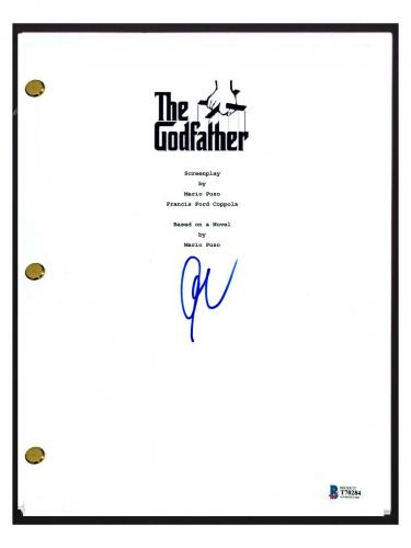 Al Pacino Signed Autographed THE GODFATHER Full Movie Script Beckett BAS COA
