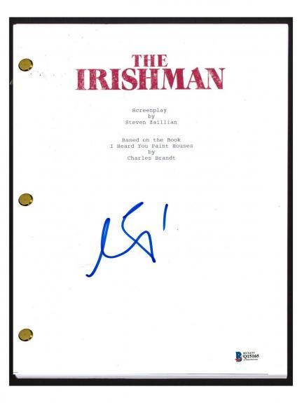 Al Pacino Signed Autographed THE IRISHMAN Full Movie Script Beckett BAS COA