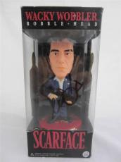 Al Pacino Signed Bobble Head Wacky Wobbler Scarface Psa/dna Itp 6a38117
