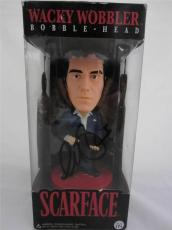 Al Pacino Signed Bobble Head Wacky Wobbler Scarface Psa/dna Itp 6a38124