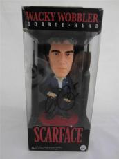 Al Pacino Signed Bobble Head Wacky Wobbler Scarface Psa/dna Itp 6a38125