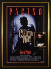 Carlito's Way Al Pacino Signed Poster Display Framed
