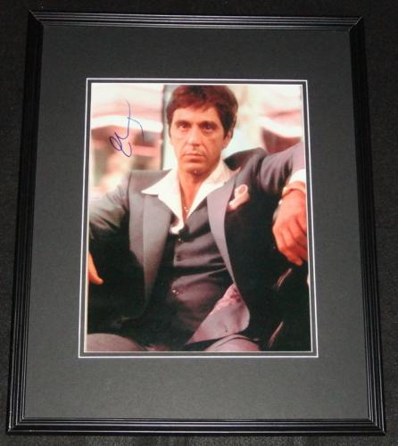 Al Pacino Signed Framed 11x14 Photo Poster AW Scarface