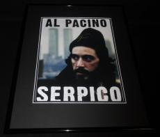 Al Pacino Signed Framed 11x14 Photo Poster AW Serpico