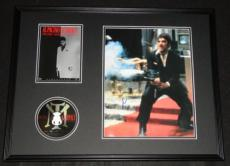 Al Pacino Signed Framed 18x24 Scarface DVD & Photo Display