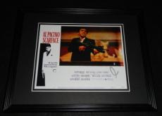 Al Pacino Signed Framed 8x10 Photo Poster Scarface