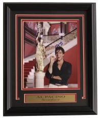 Al Pacino Signed & Framed Scarface 8x10 Photo SI Authenticated