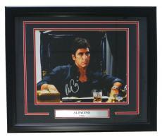 Al Pacino Signed Framed Scarface Tony Montana 11x14 Office Photo PSA