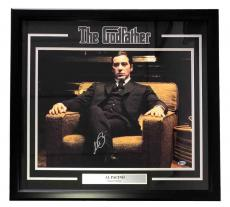 Al Pacino Signed Framed The Godfather Michael Corleone 25x27 Photo Beckett BAS