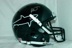 "Al Pacino Signed Full Size Sharks Helmet ""any Given Sunday"" Auto Psa/dna 7a44165"