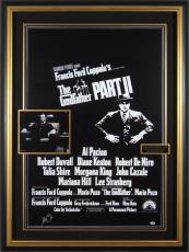 Godfather II AL PACINO Signed Poster Framed - PSA Collection