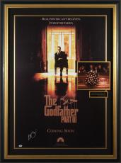 Godfather III AL PACINO Signed Poster Framed - PSA Collectio