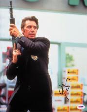 Al Pacino Signed Heat Authentic Autographed 11x14 Photo (PSA/DNA) #J03369