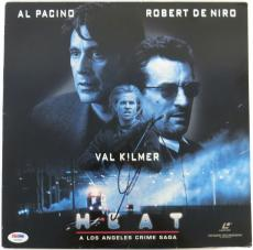 Al Pacino Signed HEAT Authentic Autographed Laserdisc Cover PSA/DNA #T46888